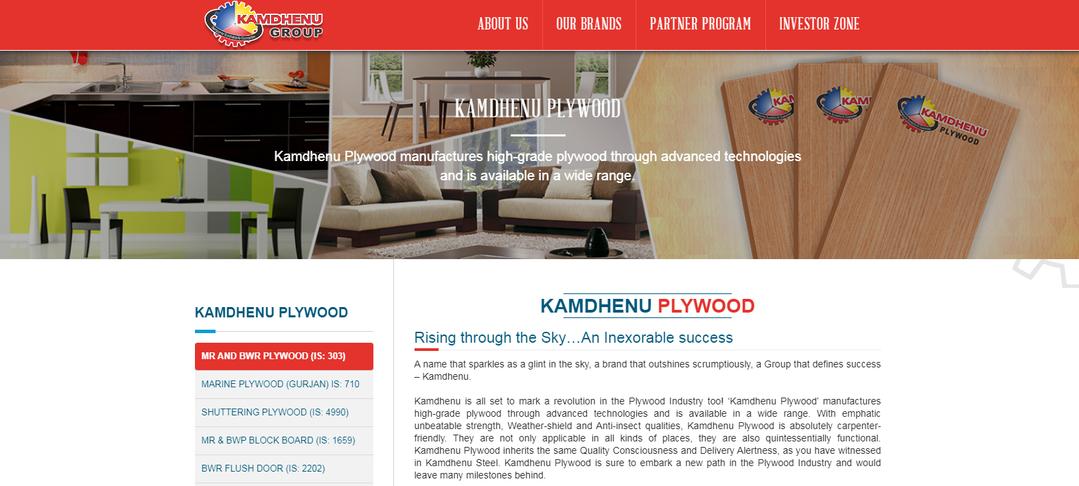 Kamdhenu Plywood Brand Best Plywood Brand Available in India