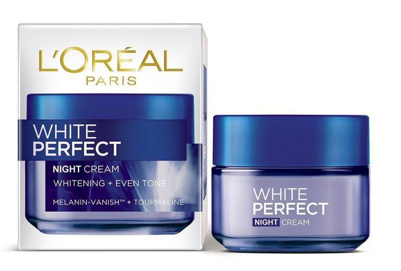 Loreal Paris white perfect night cream