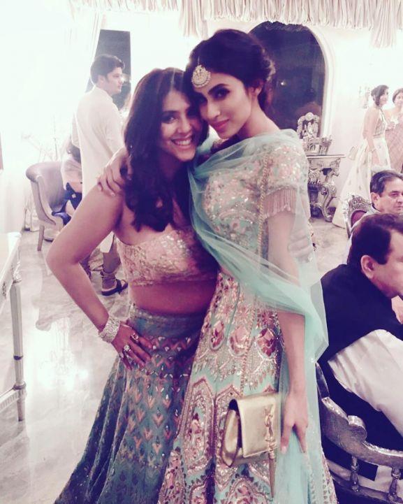 Mouni Roy with Ekta Kapoor