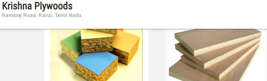 krishna Best Plywood Brand Available in India