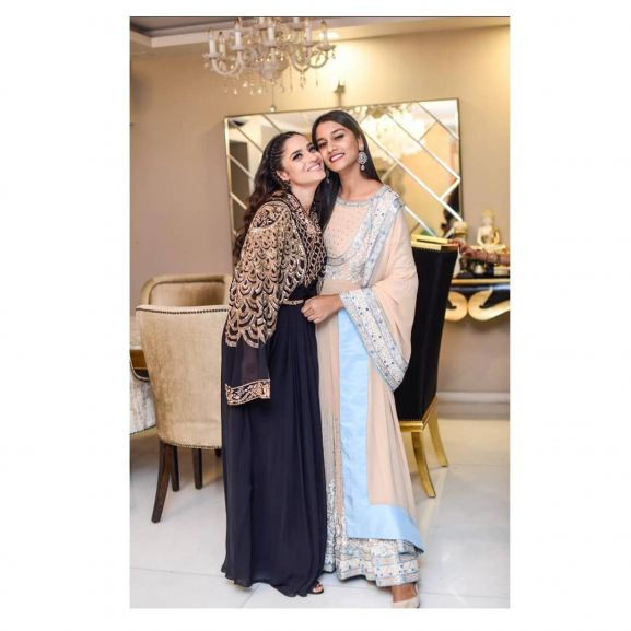 Ankita with her sister