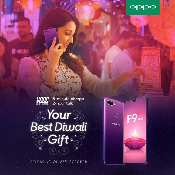 Kiara Advani for Oppo