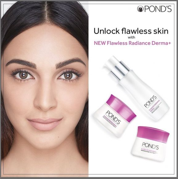 Kiara Advani for Ponds