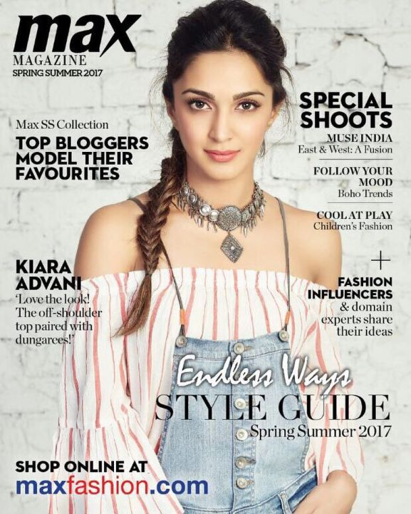 Kiara Advani on magazine cover