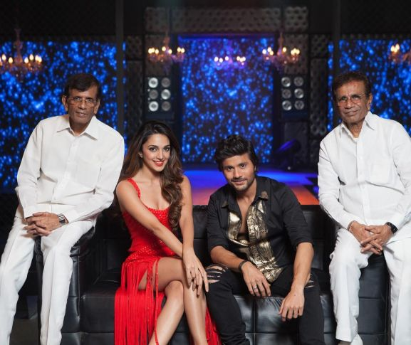 Kiara Advani with Abbas-Mustan