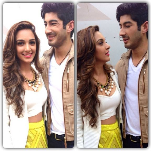 Kiara Advani with Mohit Marwah
