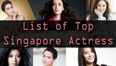 List of Top Singapore Actress