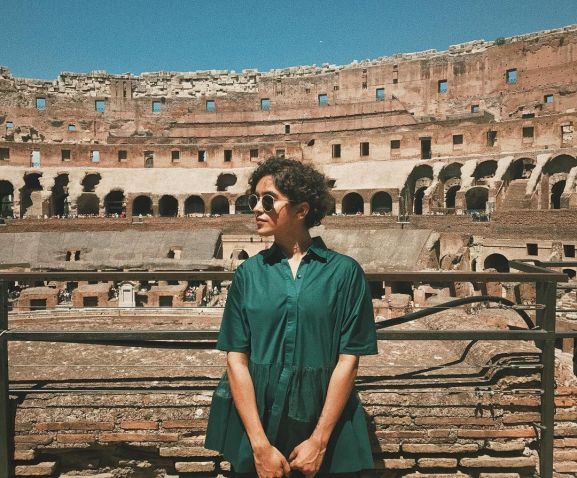 Sanya Malhotra on vacation
