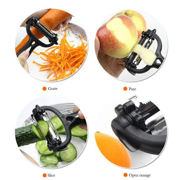 360 Degree Kitchen Multi Peeler