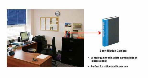 Bookcam Covert Recording Device