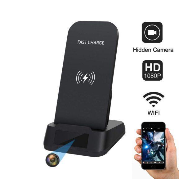 iPhone Charging Dock Spy Cam