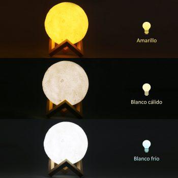 3D Moon Lamp