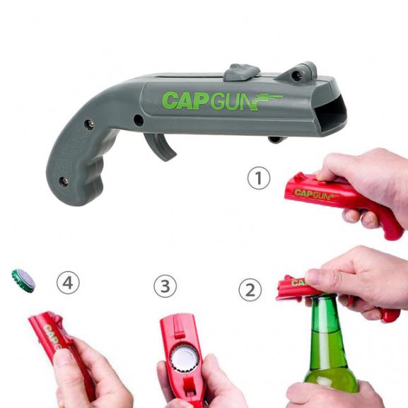 CapBlaster Bottle Gun