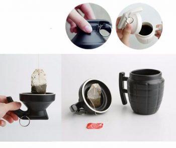 Ceramic Grenade Mug