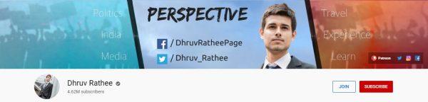 Dhruv Rathee: Best Social Channel