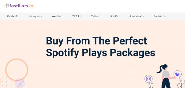 FastLikes - buy spotify plays