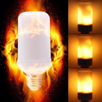 Flaming LED Bulb