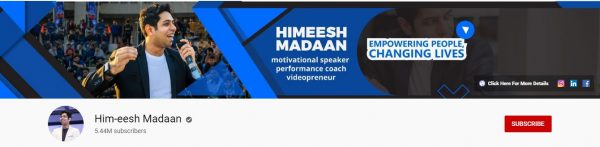 Him-eesh Madaan: Best Motivational Channel