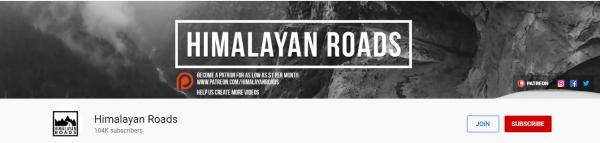 Himalayan Roads: Best Travel Vlogger