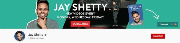 Jay Shetty: Best Social Channel