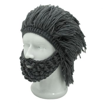 Knitted Beard Beanie