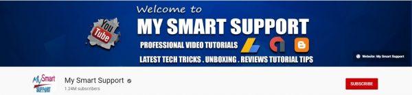 My Smart Support: Best Tech Channel