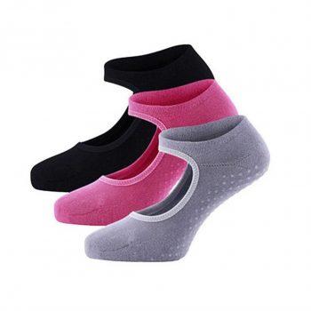 NoSlip Yoga Socks