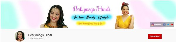 Perkymegs Hindi: Best Beauty Tips Channel