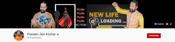 Praveen Jain Kochar: Best Motivational Channel