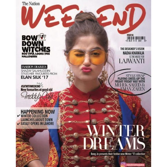 Sajal Ali on magazine