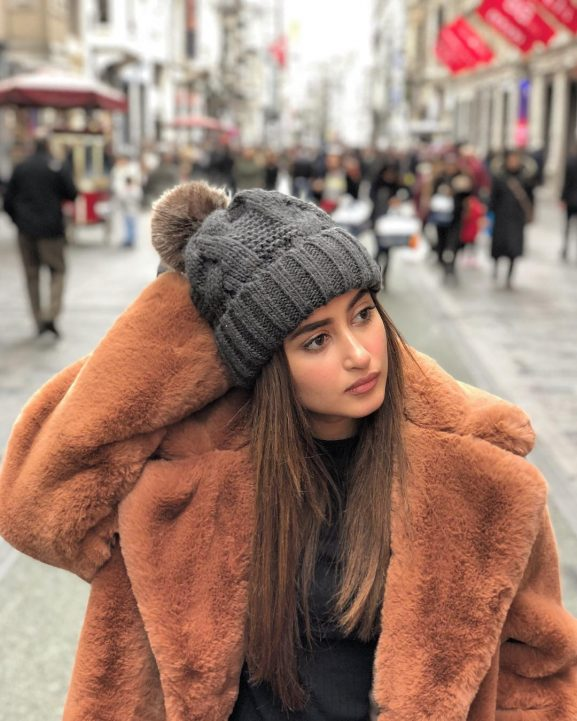 Sajal Ali on vacation