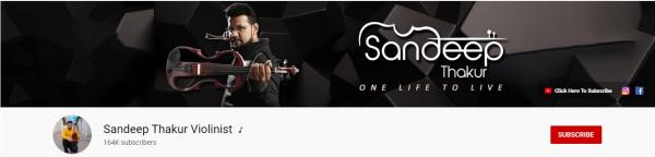 Sandeep Thakur Violinist: Best Music Channel