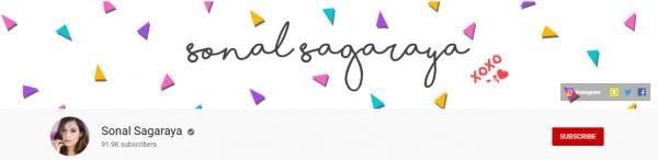 Sonal Sagaraya: Best Beauty Tips Channel