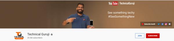 Technical Guruji: Tech Channel