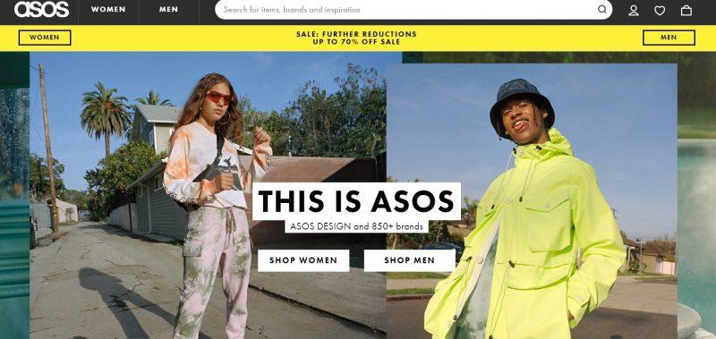 ASOS Store Like Charlotte Russe