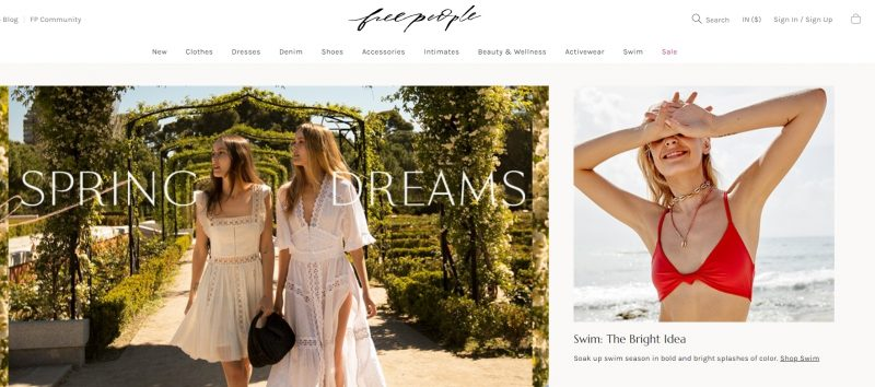 Free People: Store Like Anthropologie