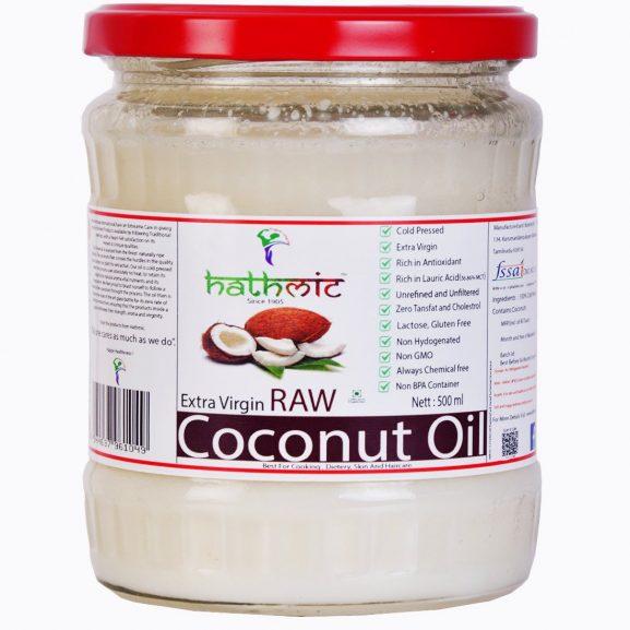 HATHMIC EXTRA VIRGIN RAW COCONUT OIL