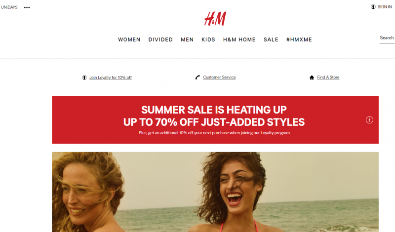 H&M Store Like Charlotte Russe