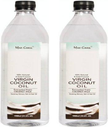 MAX CARE COLD PRESSED VIRGIN COCONUT OIL