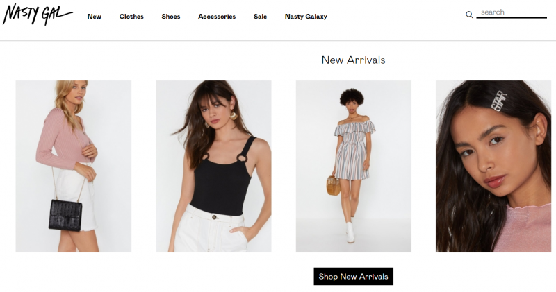 Nasty Gal: Store Like Anthropologie