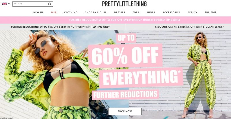 Pretty Little Thing Store Like Princess Polly