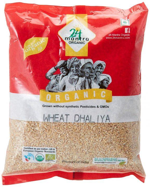 24 Mantra Organic Wheat Dhaliya