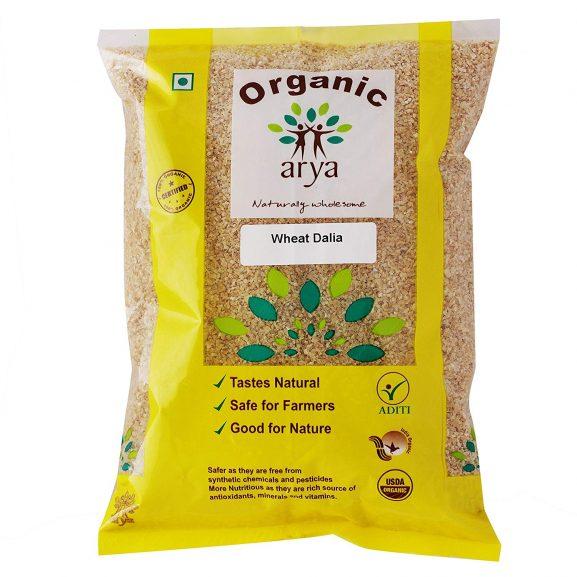 Arya Farm Organic Wheat Dalia