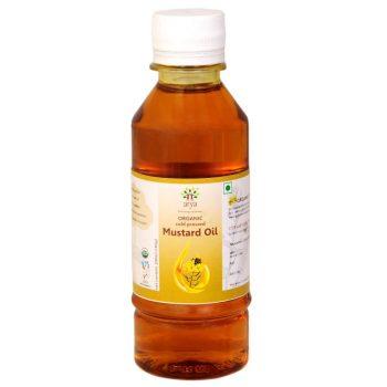 Arya Organic Cold-Pressed Mustard Oil