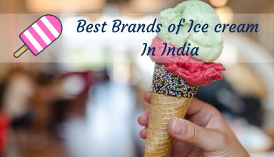 Best Brands of Ice cream In India