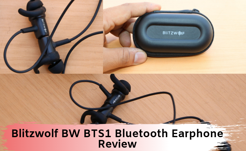 Blitzwolf BW BTS1 Bluetooth Earphone