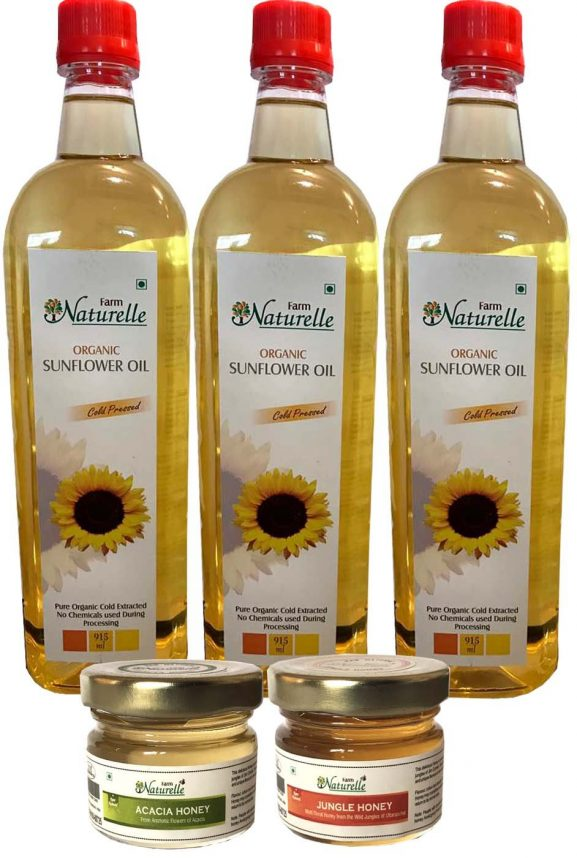 Farm Naturelle Organic Sunflower Oil