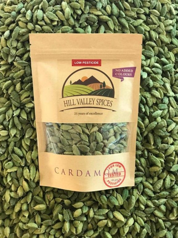 Hill Valley Spices' Cardamom