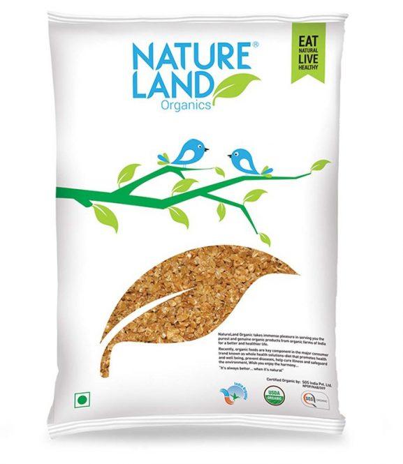 Nature Land Organics Wheat Dalia
