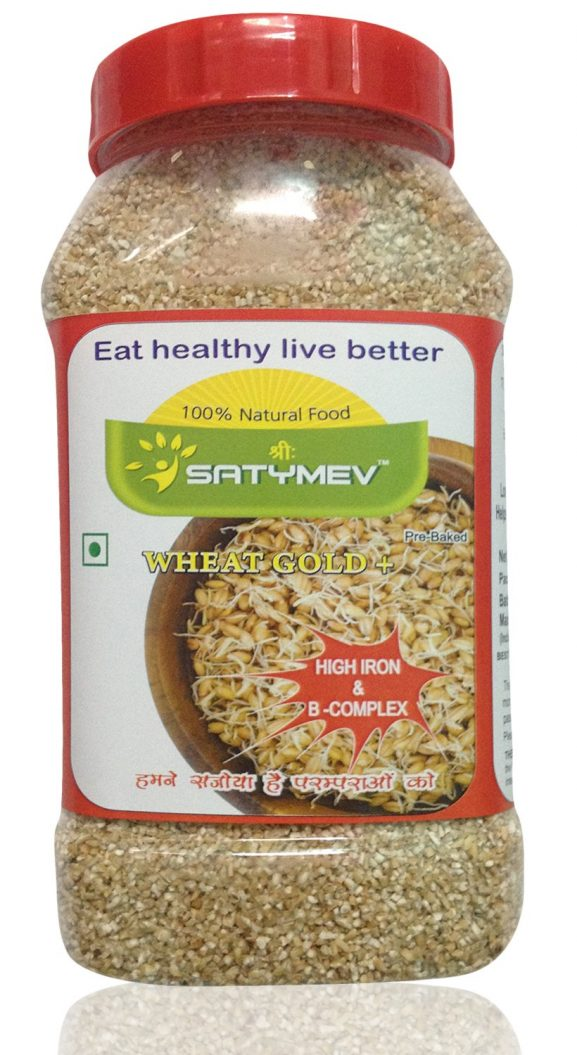 Sri Satymev Sprouted Wheat Daliya